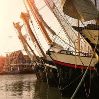 schepen-in-haven