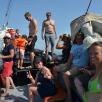 Weekend sailing trip on the Wad of IJsselmeer