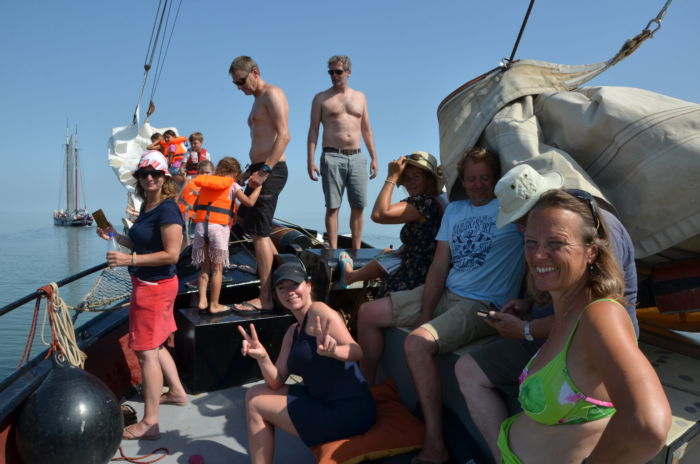 Wochenend-Segeltörn auf dem Wad of IJsselmeer