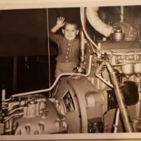 1958a-Foto-2-Piet-T-foto-motor-afgebeeld-Piet-T-Jzn